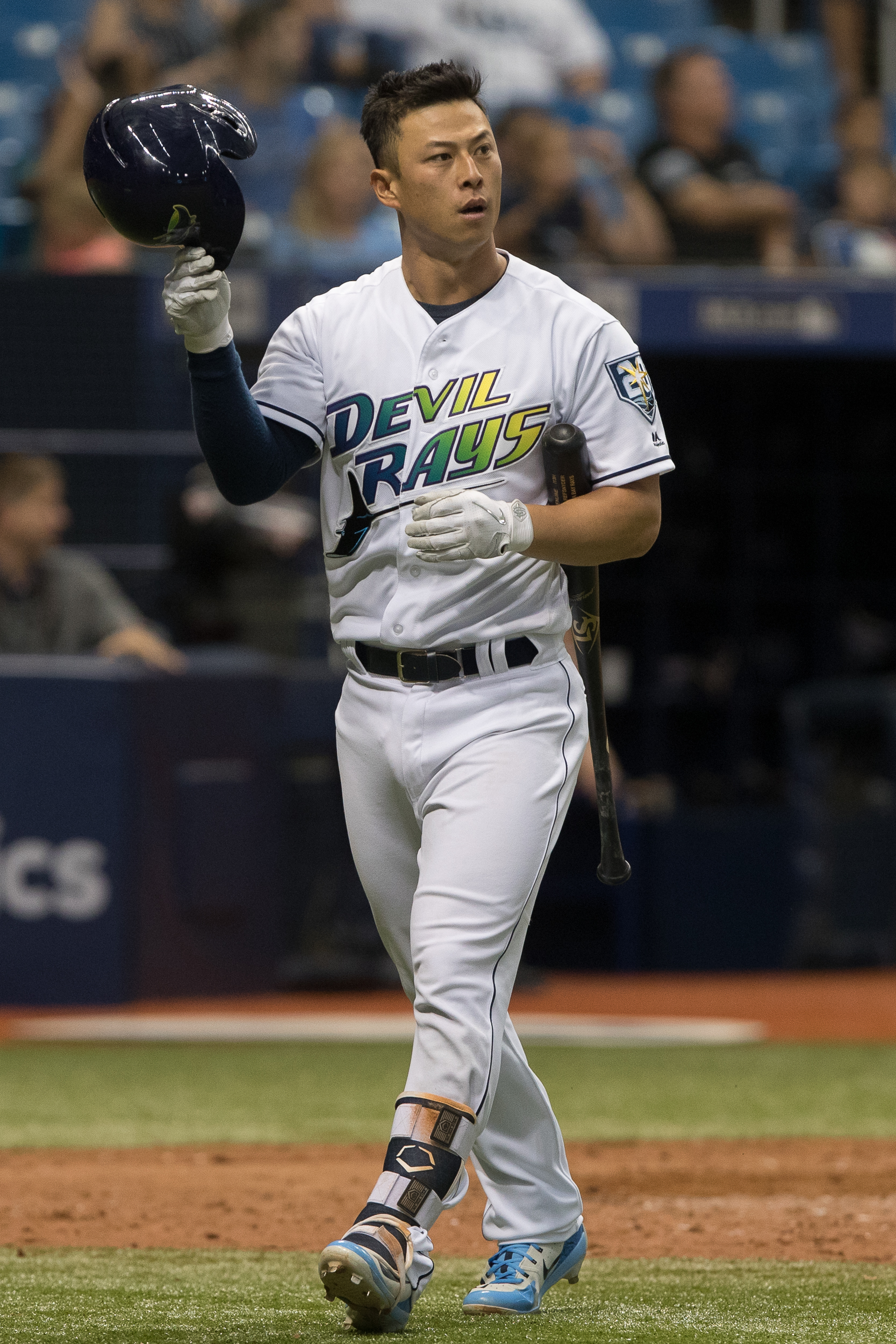 Rob Refsnyder frustrated after striking out./STEVEN MUNCIE
