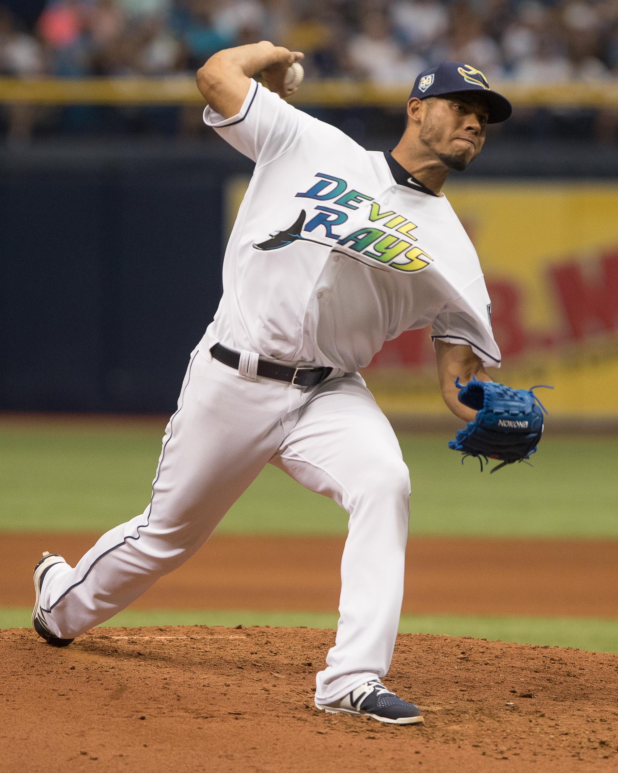Font continued to pitch well for the Rays./STEVIE MUNCIE