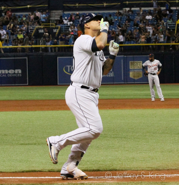 Ramos lead the Rays' offense once again../JEFFREY S. KING