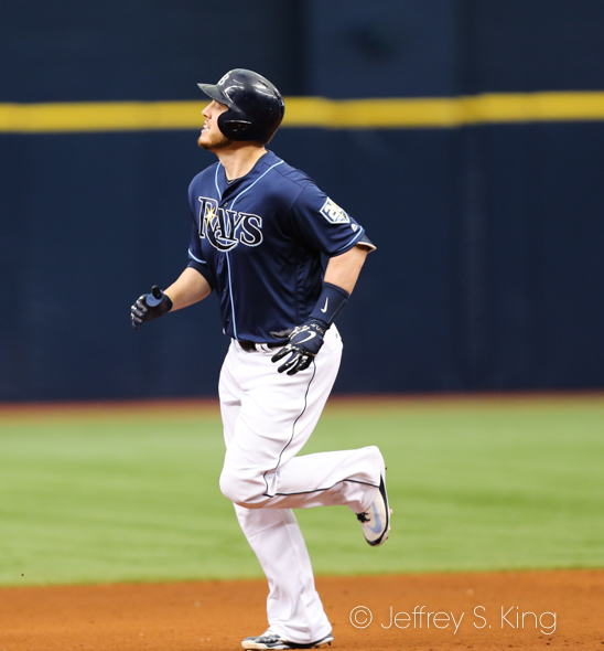 Cron hit his second home run in two days./JEFFREY S. KING