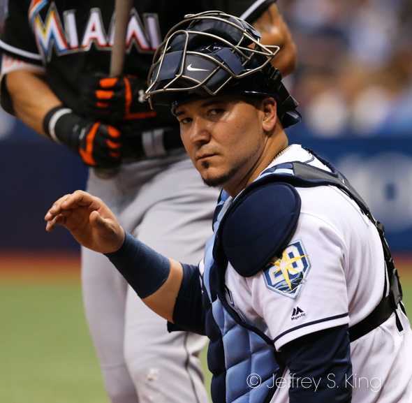 Sucre had two hits for Tampa Bay./JEFFREY S. KING