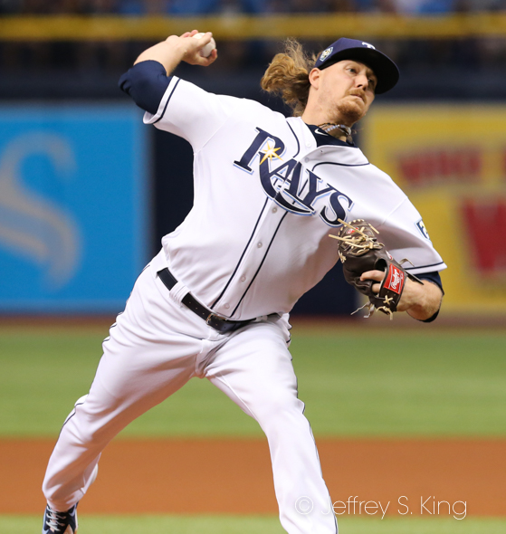 Ryne Stanek has given the Rays good starts./JEFFREY S. KING