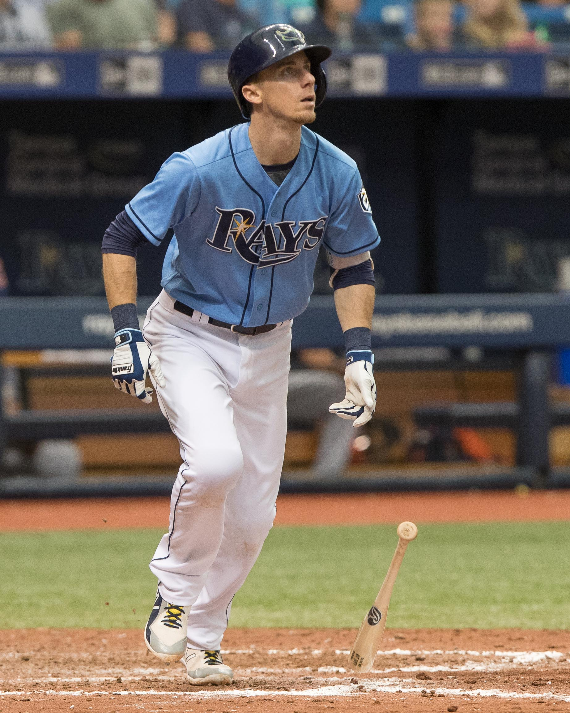 Duffy had a two-run single for Rays./STEVEN MUNCIE
