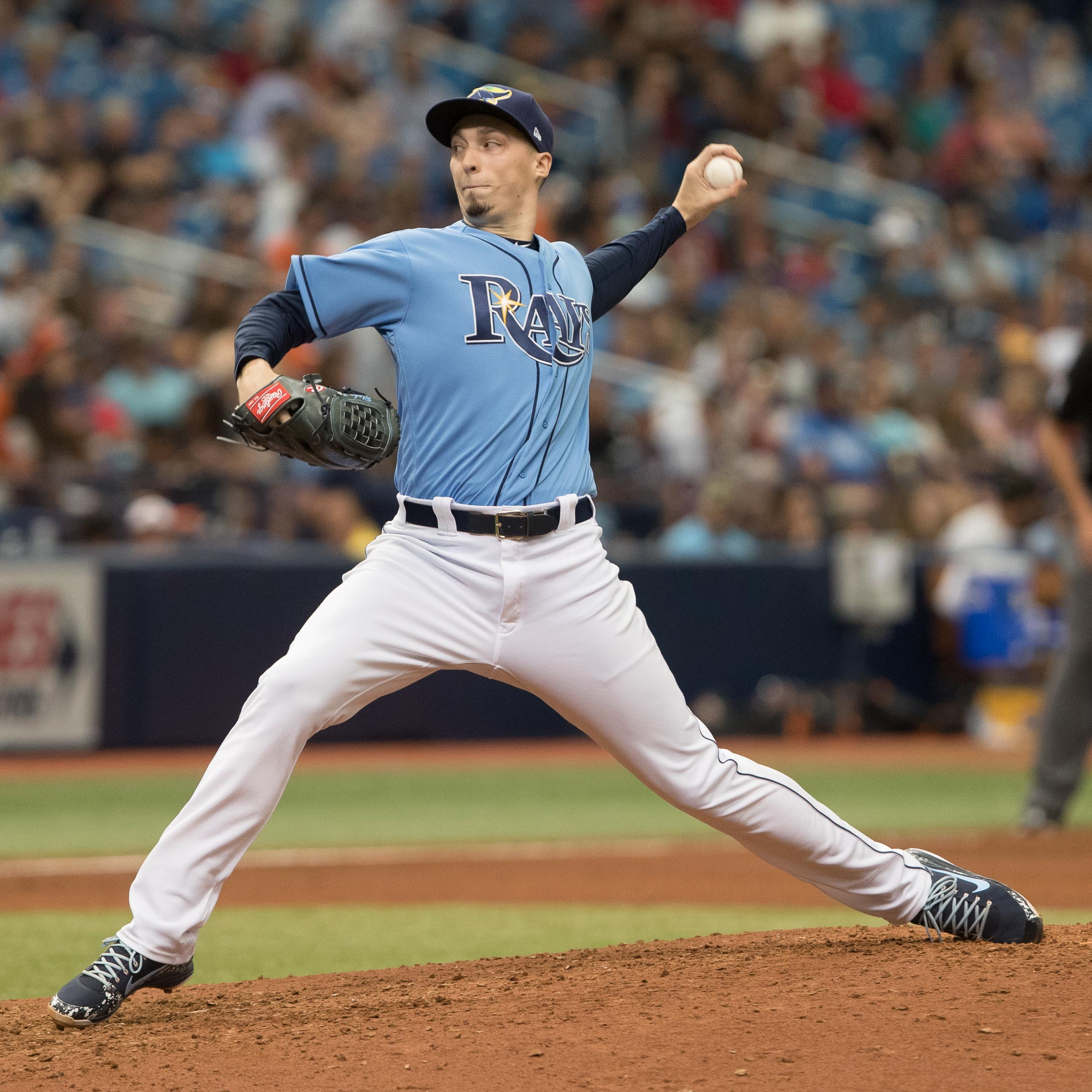 Blake Snell won his 11th game of the season../STEVEN MUNCIE