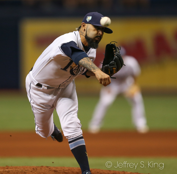 Romo recorded his 17th save./JEFFREY S. KING