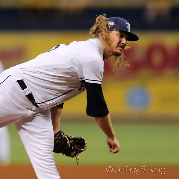 Stanek allowed two runs in one inning./JEFFREY S. KING