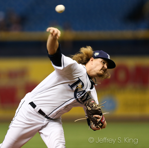 Stanek threw two perfect innings./JEFFREY S. KING