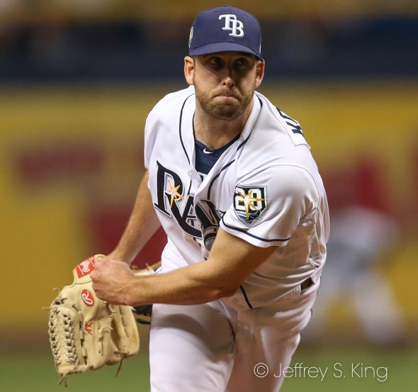 Kolarek gave up two hits but no runs in his inning./JEFFREY S. KING