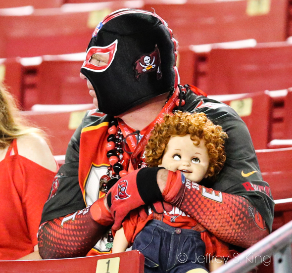 Bucs fans are hoping for a surprise season./JEFFREY S. KING